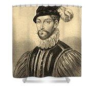 Gabriel De Lorges, Comte De Montgomery Shower Curtain