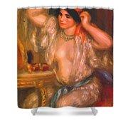 Gabrielle At The Mirror 1910 Shower Curtain