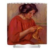 Gabrielle Mending 1908 Shower Curtain