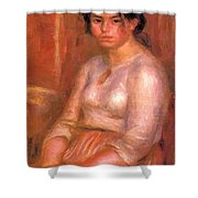 Gabrielle Seated Shower Curtain