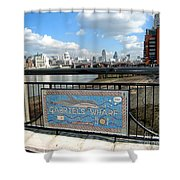 Gabriel's Wharf Shower Curtain
