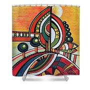 Gaia's Dream Shower Curtain