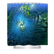 Gaia's Emergence Shower Curtain