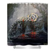 Gaia's Tears Shower Curtain