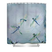 Gairid Beatha Shower Curtain
