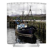 Gairloch Harbor Shower Curtain