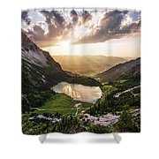 Gaisalpsee Shower Curtain
