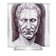 Gaius Julius Caesar Shower Curtain