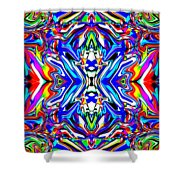 Galactia Shower Curtain