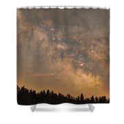 Galactic Center Shower Curtain
