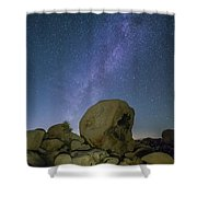 Galactic Desert Shower Curtain