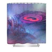 Galactic Eye Shower Curtain