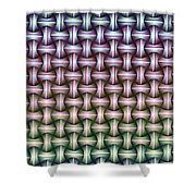 Galactic Fabric Shower Curtain