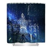 Galactic Prometheus Shower Curtain