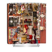 Galata Gift Shop Shower Curtain