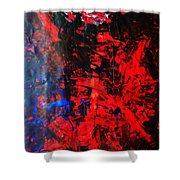 Galaxy Without Gravity Shower Curtain