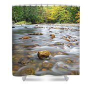 Gale River - Franconia New Hampshire  Shower Curtain