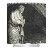 Galen, Greek Physician And Philosopher Shower Curtain