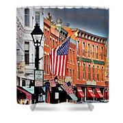 Galena On A Perfect Day Shower Curtain