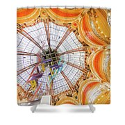 Galeries Lafayette Inside 4 Art Shower Curtain