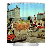 Galicia Medieval Shower Curtain