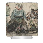 Galician Women Shower Curtain