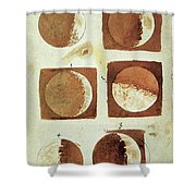 Galileo - Moon Shower Curtain