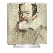 Galileo Galilei Shower Curtain