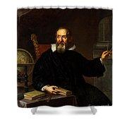 Galileo Galilei, Italian Astronomer Shower Curtain