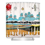 Gallery By The Sea Shower Curtain