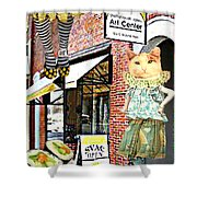 Gallery Girl Shower Curtain