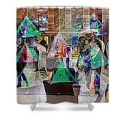 Gallery Shuffle Shower Curtain