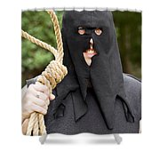 Gallows Hangman With Noose Shower Curtain