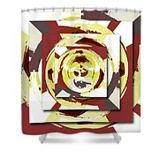 Game Of Shapes Shower Curtain
