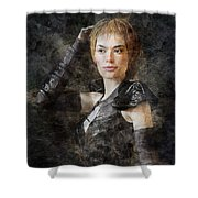 Game Of Thrones. Cersei Lannister. Shower Curtain