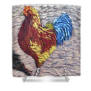 Gamecock Shower Curtain