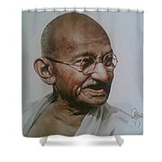 Gandhiji Shower Curtain
