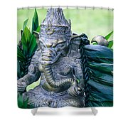 Ganesha Ganesa Ganapati Vinayaka Pillaiyar Hindu Pantheon Shower Curtain