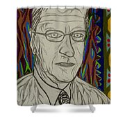 Gang Of Four - Bob Reed Shower Curtain