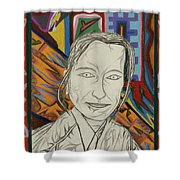 Gang Of Four - Stephanie Shower Curtain