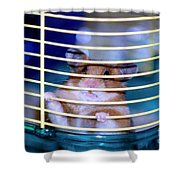 Gangster Hamster Shower Curtain