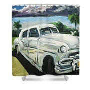 Gangsters On Vacation  Shower Curtain