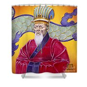 Gao Zhang Shower Curtain