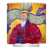 Gao Zhang Shower Curtain