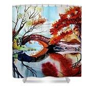 Gapstow Bridge II Shower Curtain
