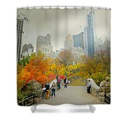 Gapstow Crossing Shower Curtain
