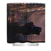 Garage Shower Curtain