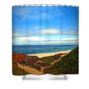 Garapata State Park South Of Monterey Ca Seven Shower Curtain