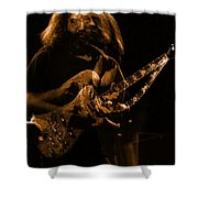 Garciart #14 In Amber With A Twist Shower Curtain
