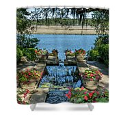 Garden # 123 Shower Curtain